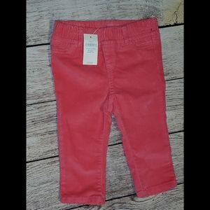 Cute velour pants